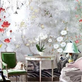 дизайнерские обои на стену фото 007