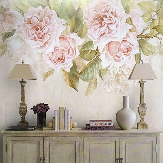 Обои на стену ✔ Стильные дизайнерские обои в интерьере, фото