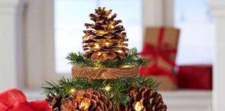елка из шишек фото 002