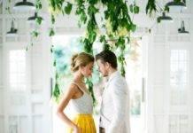 Желтая свадьба фото 36