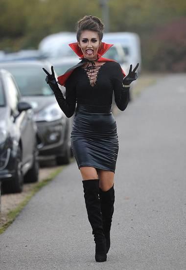 образ на хэллоуин для девушек фото 001