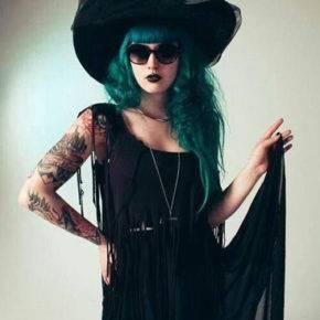костюм ведьмы на хэллоуин фото 004
