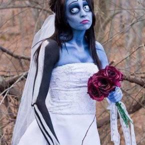 костюм невесты на хэллоуин фото 025