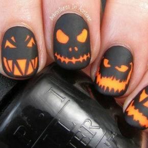 маникюр на хэллоуин фото 055