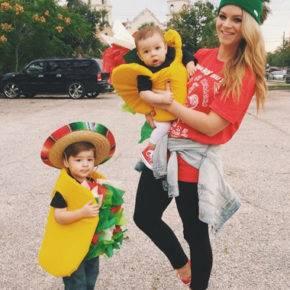 семейный образ на хэллоуин фото 073