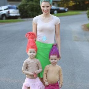 семейный образ на хэллоуин фото 074