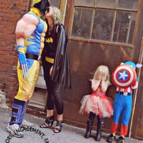 семейный образ на хэллоуин фото 076