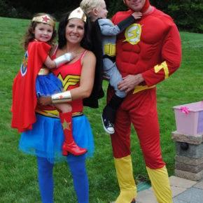 семейный образ на хэллоуин фото 077