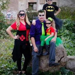 семейный образ на хэллоуин фото 078