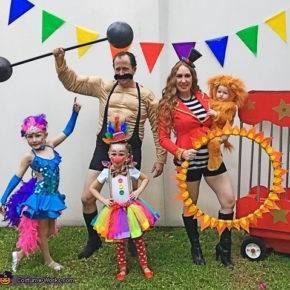 семейный образ на хэллоуин фото 082
