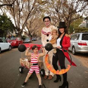 семейный образ на хэллоуин фото 083