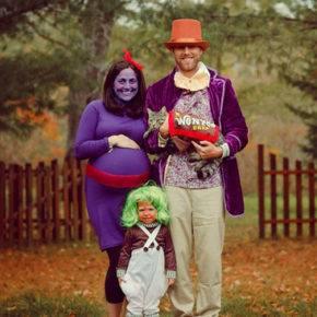 семейный образ на хэллоуин фото 084