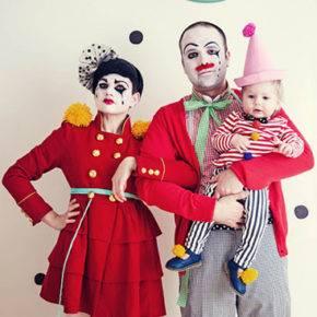 семейный образ на хэллоуин фото 085
