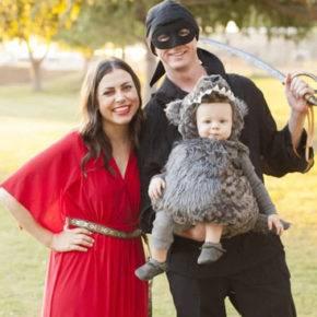 семейный образ на хэллоуин фото 087