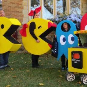 семейный образ на хэллоуин фото 091