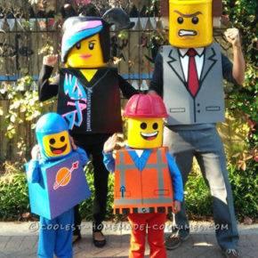 семейный образ на хэллоуин фото 093