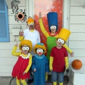 семейный образ на хэллоуин фото 095