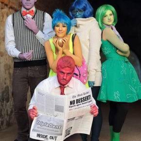 семейный образ на хэллоуин фото 096
