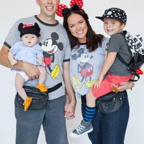 семейный образ на хэллоуин фото 097