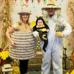 семейный образ на хэллоуин фото 098