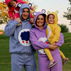 семейный образ на хэллоуин фото 099