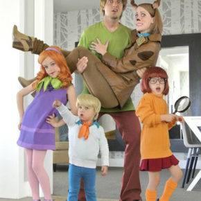 семейный образ на хэллоуин фото 100