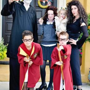 семейный образ на хэллоуин фото 103