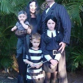 семейный образ на хэллоуин фото 105