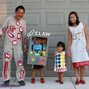 семейный образ на хэллоуин фото 110