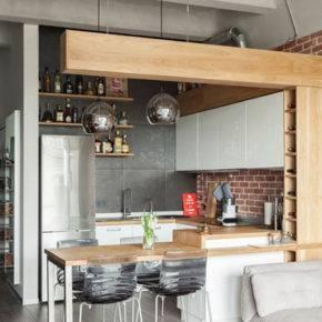 кухонная мебель фото 008