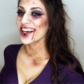 макияж на хэллоуин фото 05