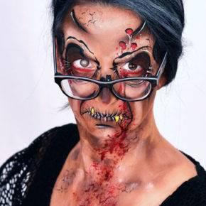 макияж на хэллоуин фото 06
