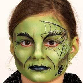 макияж на хэллоуин фото 07