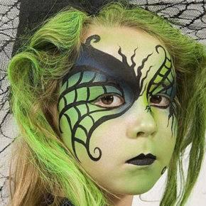 макияж на хэллоуин фото 10