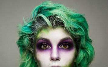 макияж на хэллоуин фото 13