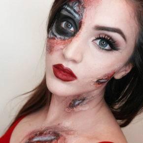 макияж на хэллоуин фото 14