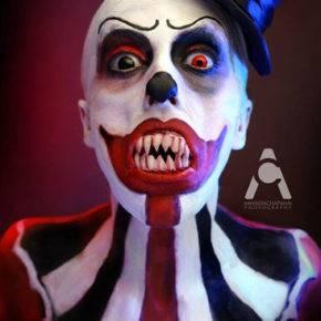 макияж на хэллоуин фото 21