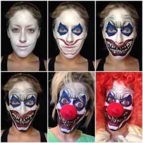 макияж на хэллоуин фото 25