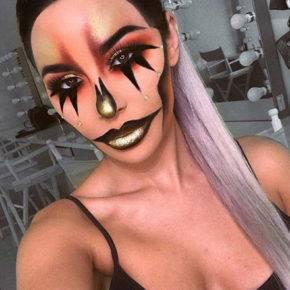 макияж на хэллоуин фото 26