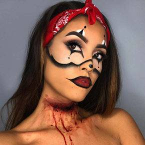 макияж на хэллоуин фото 27