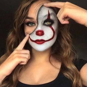 макияж на хэллоуин фото 28