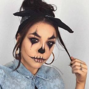 макияж на хэллоуин фото 30