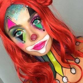 макияж на хэллоуин фото 31