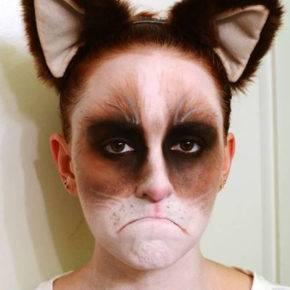 макияж на хэллоуин фото 33