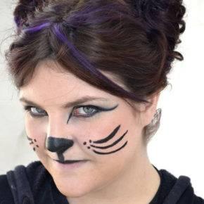 макияж на хэллоуин фото 35