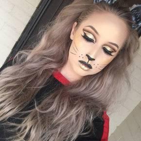 макияж на хэллоуин фото 36