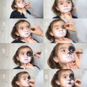 макияж на хэллоуин фото 37