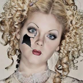 макияж на хэллоуин фото 41
