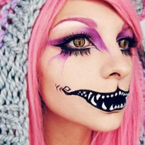макияж на хэллоуин фото 42