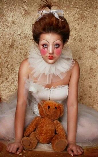 макияж на хэллоуин фото 48